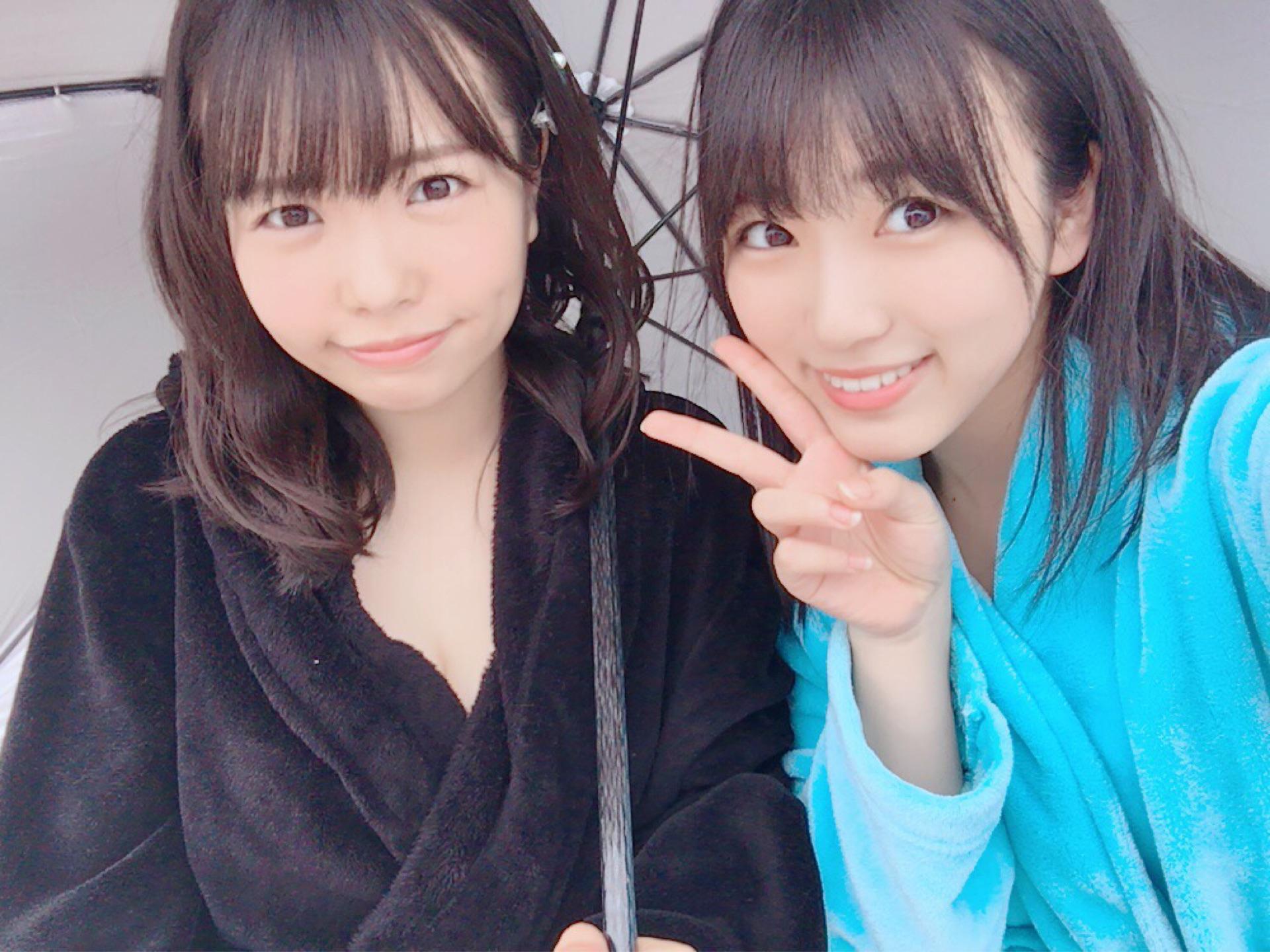 矢吹奈子のバスローブ画像